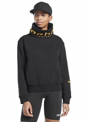 Reebok Kadın Siyah  Sweatshirt 101578984 Siyah